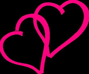 Pink hearts clip art clip freeuse Clip Art Pink Heart | Clipart Panda - Free Clipart Images clip freeuse