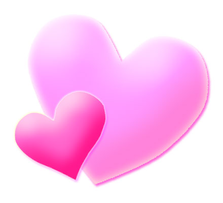 Pink hearts clip art graphic stock Pink Heart Images | Free Download Clip Art | Free Clip Art | on ... graphic stock