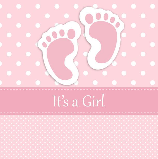 Pink in loving memory for baby booties background clipart clip art download Baby Girl Footprints Card Free Stock Photo - Public Domain ... clip art download