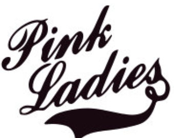 Pink ladies grease black and white clipart banner free download Pink ladies Logos banner free download