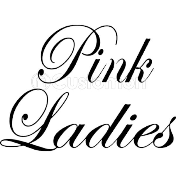 Pink ladies grease black and white clipart clip free stock PINK LADIES logo Crewneck Sweatshirt - Customon clip free stock