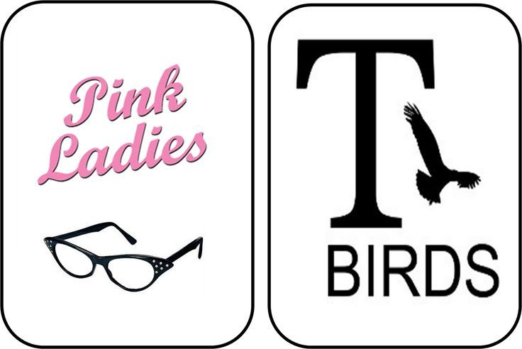 Pink ladies grease black and white clipart picture royalty free library grease pink ladies logo - Google Search | Grease is the Word ... picture royalty free library