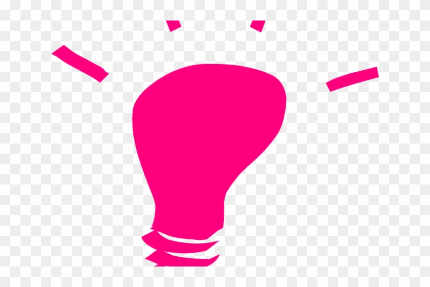Pink light bulb clipart image transparent library Light Bulb Clipart Pink - Principle Of Clarity, HD Png ... image transparent library