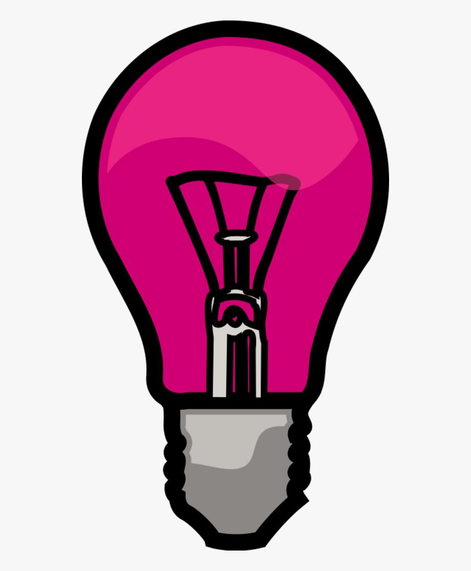 Pink light bulb clipart vector stock Light Bulb Clipart Pink - Light Bulb Clip Art #702261 - Free ... vector stock