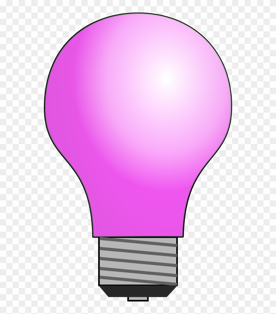 Pink light bulb clipart png freeuse library Light Bulb Clip Art Cliparts Co Vector - Light Bulb Clip Art ... png freeuse library