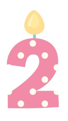 Pink number 2 birthday clipart transparent 121 Best Birthday Numbers images in 2016 | Birthday numbers ... transparent