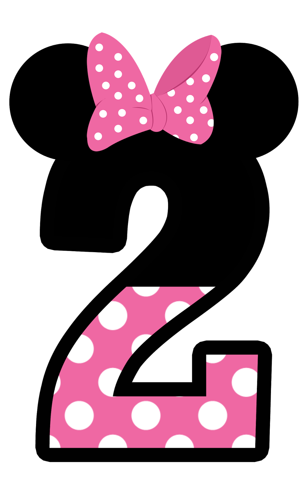 Pink number 2 birthday clipart black and white Number 2 Clipart | Free download best Number 2 Clipart on ... black and white