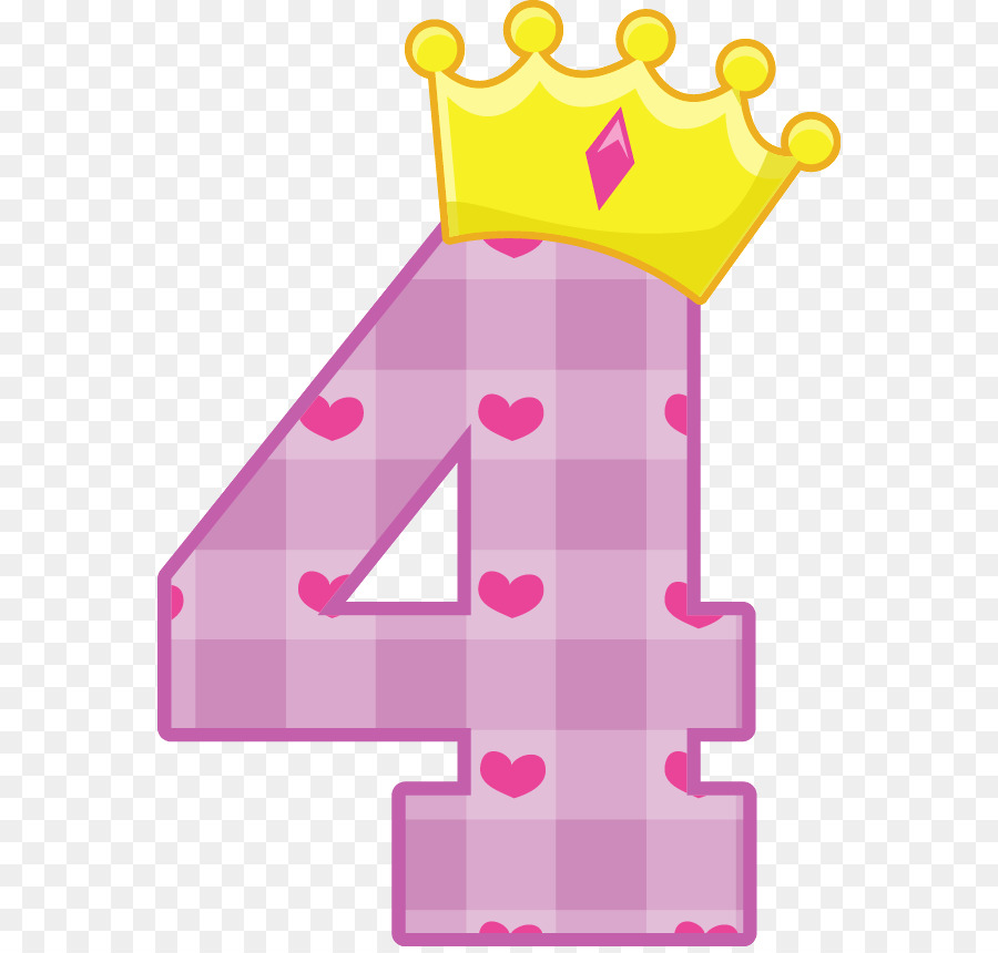 Pink number 4 clipart banner royalty free download Pink Birthday Cake clipart - Birthday, Number, Pink ... banner royalty free download