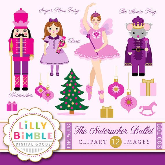 Pink nutcracker clipart vector transparent library Pin by The Party Lady It Is Always A Party on Nutcracker ... vector transparent library