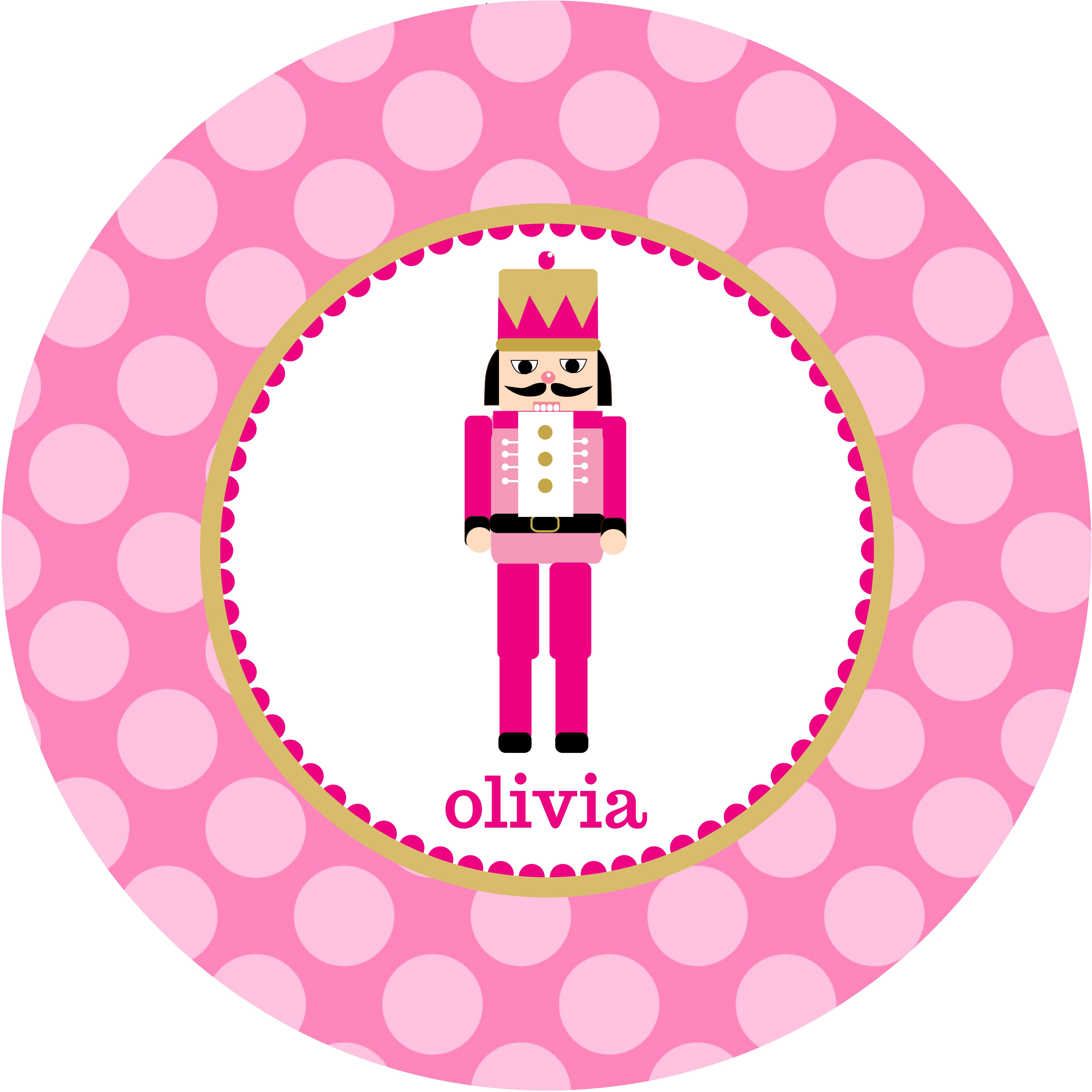 Pink nutcracker clipart graphic transparent 5788 Pink Nutcracker Melamine Plate graphic transparent