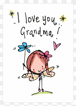 Pink or blue grandma loves you design clipart picture free stock Free PNG Grandma Clip Art Download - PinClipart picture free stock