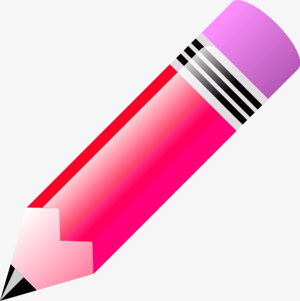 Pink pencil clipart png royalty free stock Pink pencil clipart 2 » Clipart Portal png royalty free stock