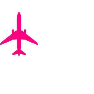 Pink plane clipart jpg freeuse download Pink Plane clipart, cliparts of Pink Plane free download (wmf, eps ... jpg freeuse download