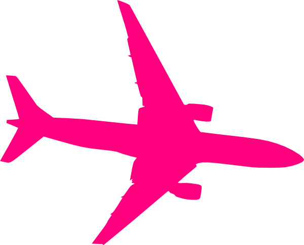 Pink plane clipart image freeuse stock Pink plane clipart - ClipartFest image freeuse stock