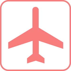Pink plane clipart vector royalty free download Pink Airplane Sign Clip Art at Clker.com - vector clip art online ... vector royalty free download