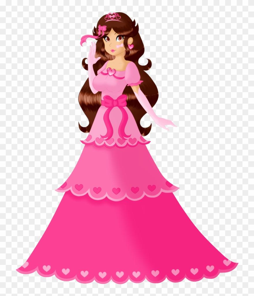 Pink princess clipart png library Pink Princess Tara By Izumi Nyu - Clip Art - Png Download ... png library