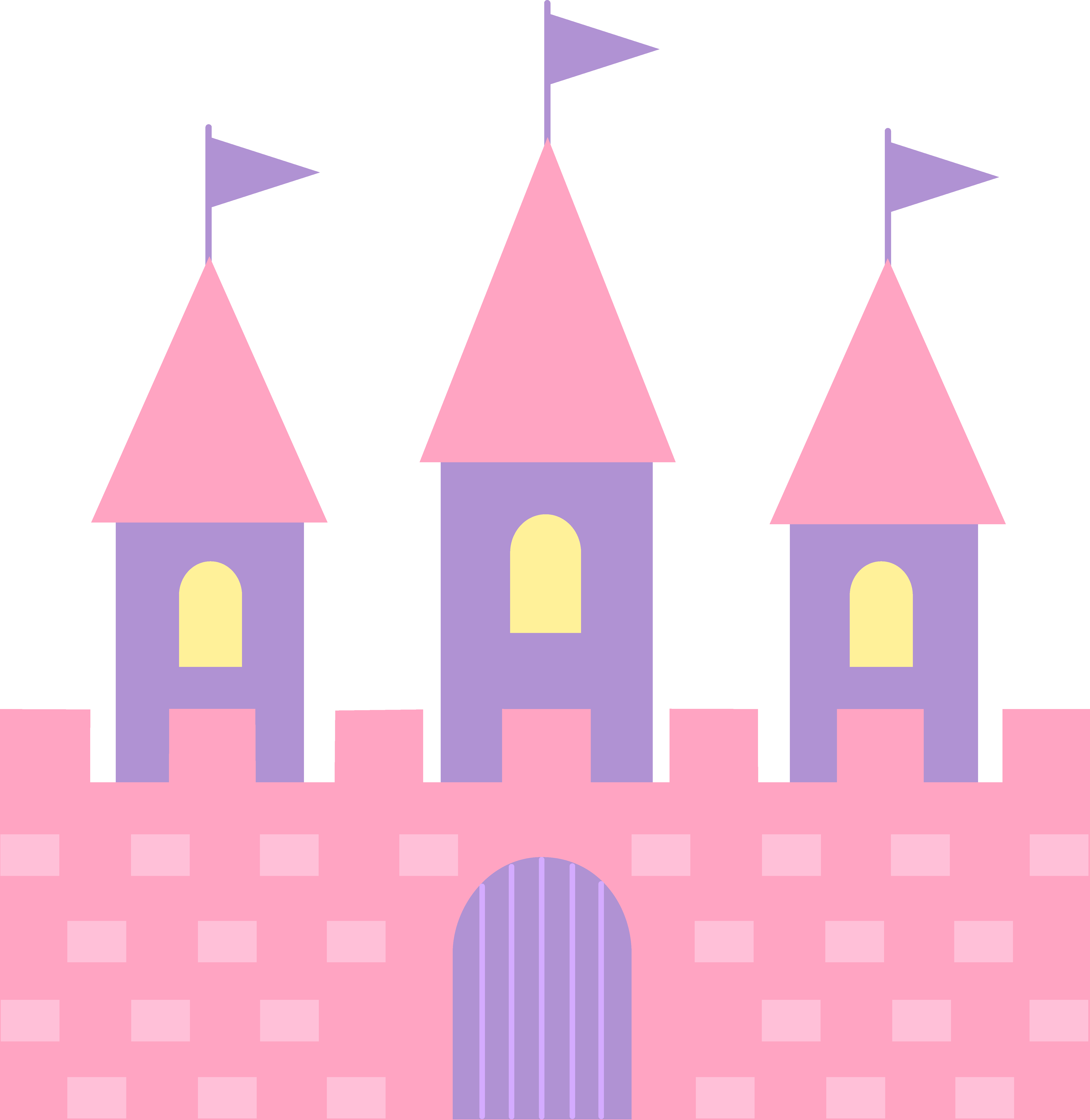 Pink princess crown clipart png royalty free library Pink Princess Castle | Scrapbook Disney | Pinterest | Princess ... png royalty free library