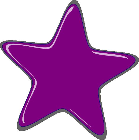 Purple star clipart vector transparent Purple Star Clip Art at Clker.com - vector clip art online, royalty ... vector transparent