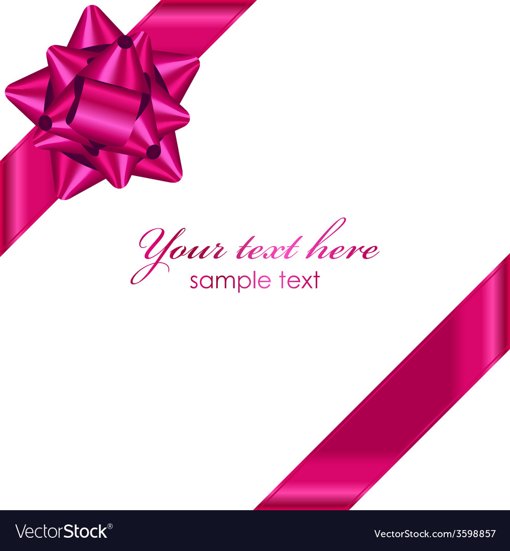Pink ribbon bow clipart clip art stock Pink ribbon with bow clip art stock