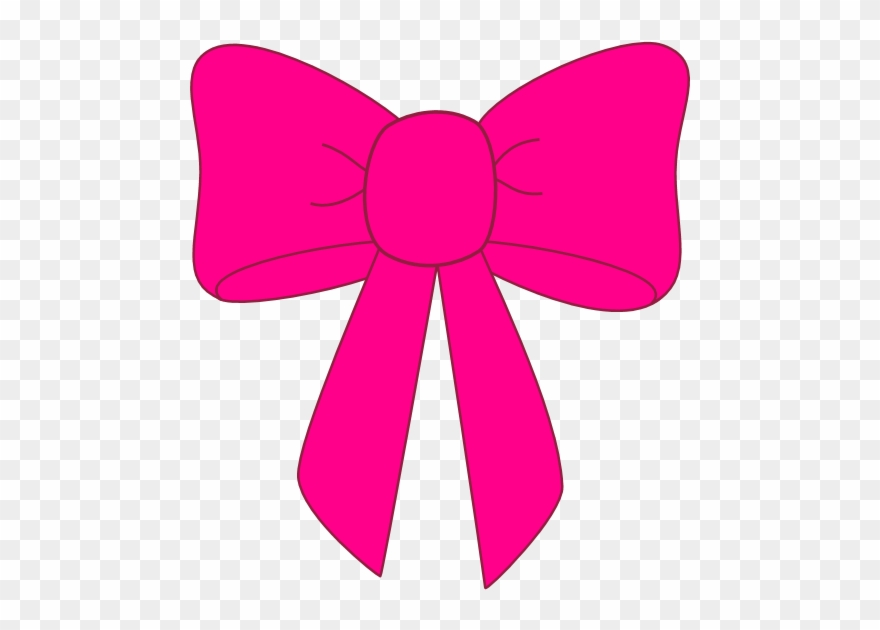 Pink ribbon bow clipart clipart black and white library Pink Ribbon Clip Art - Pink Bows - Png Download (#7247 ... clipart black and white library