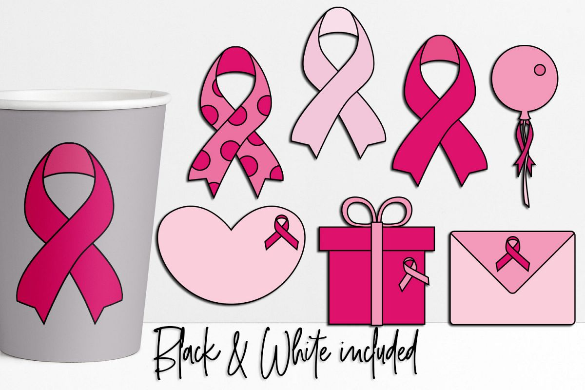 Pink ribbon graphics clipart clipart transparent download Pink Ribbon Day Illustrations and Graphics clipart transparent download