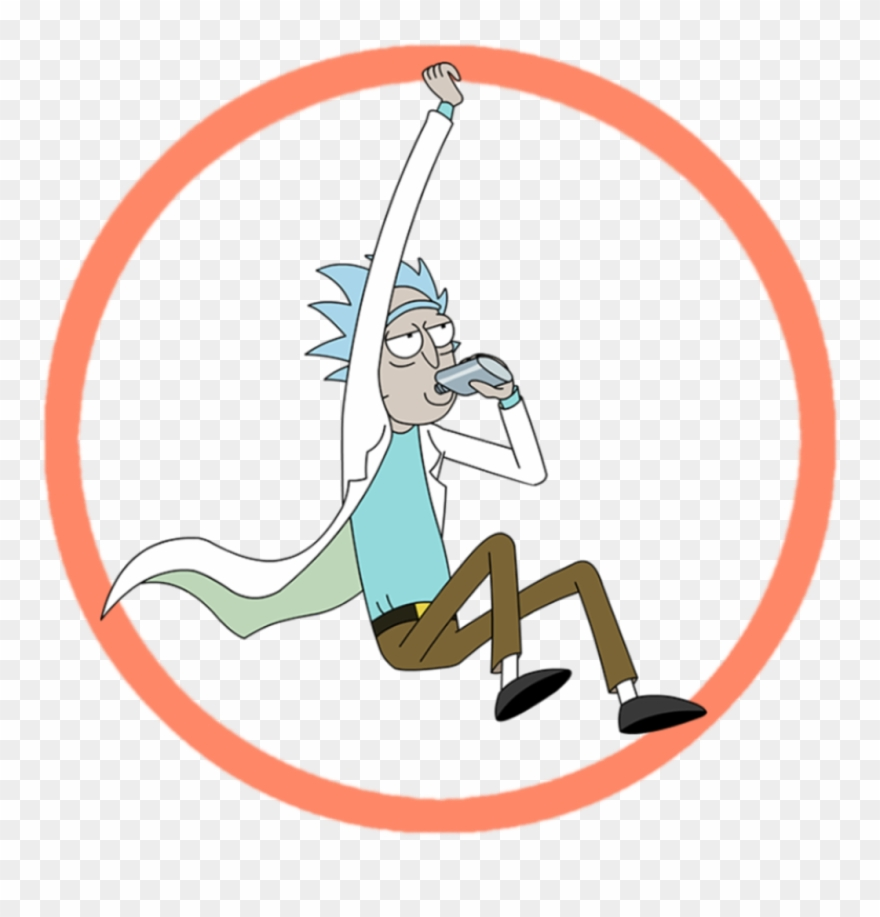 Pink rick rack clipart png transpare nt background jpg transparent download ⚪⭕⚪ Ftestickers Circle Rickandmorty Rick Cartoon Tvshow ... jpg transparent download