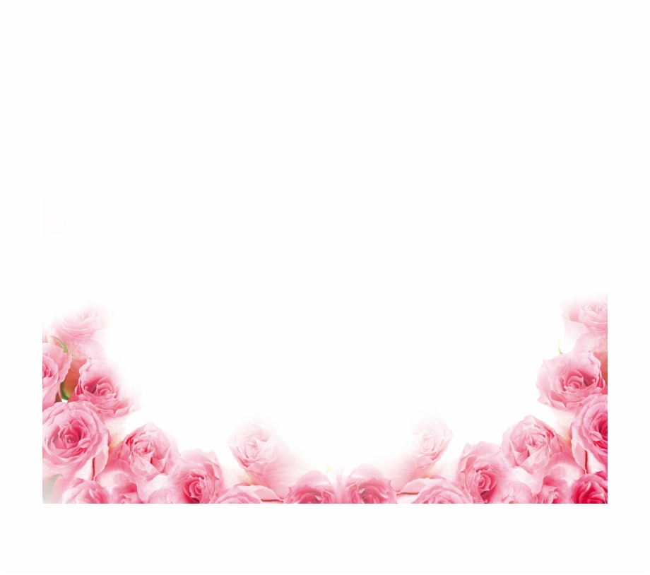 Pink rose border clipart picture royalty free download Pink Rose Border - Pink Rose Petals Png Free PNG Images ... picture royalty free download