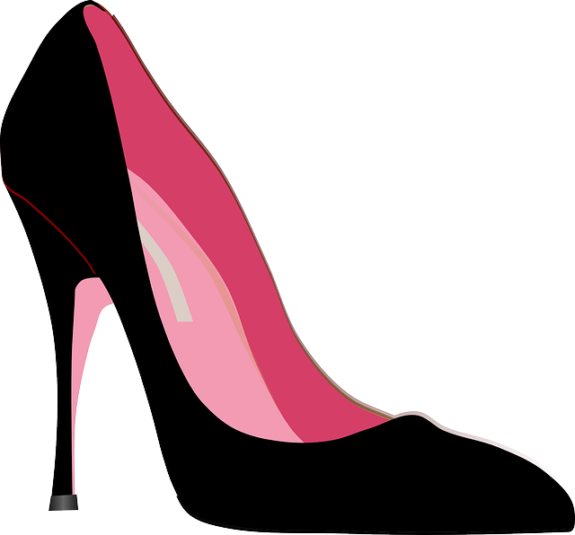 Pink shoes clipart picture freeuse Free Image on Pixabay - High-Heels, Stiletto, Shoe, Fashion ... picture freeuse