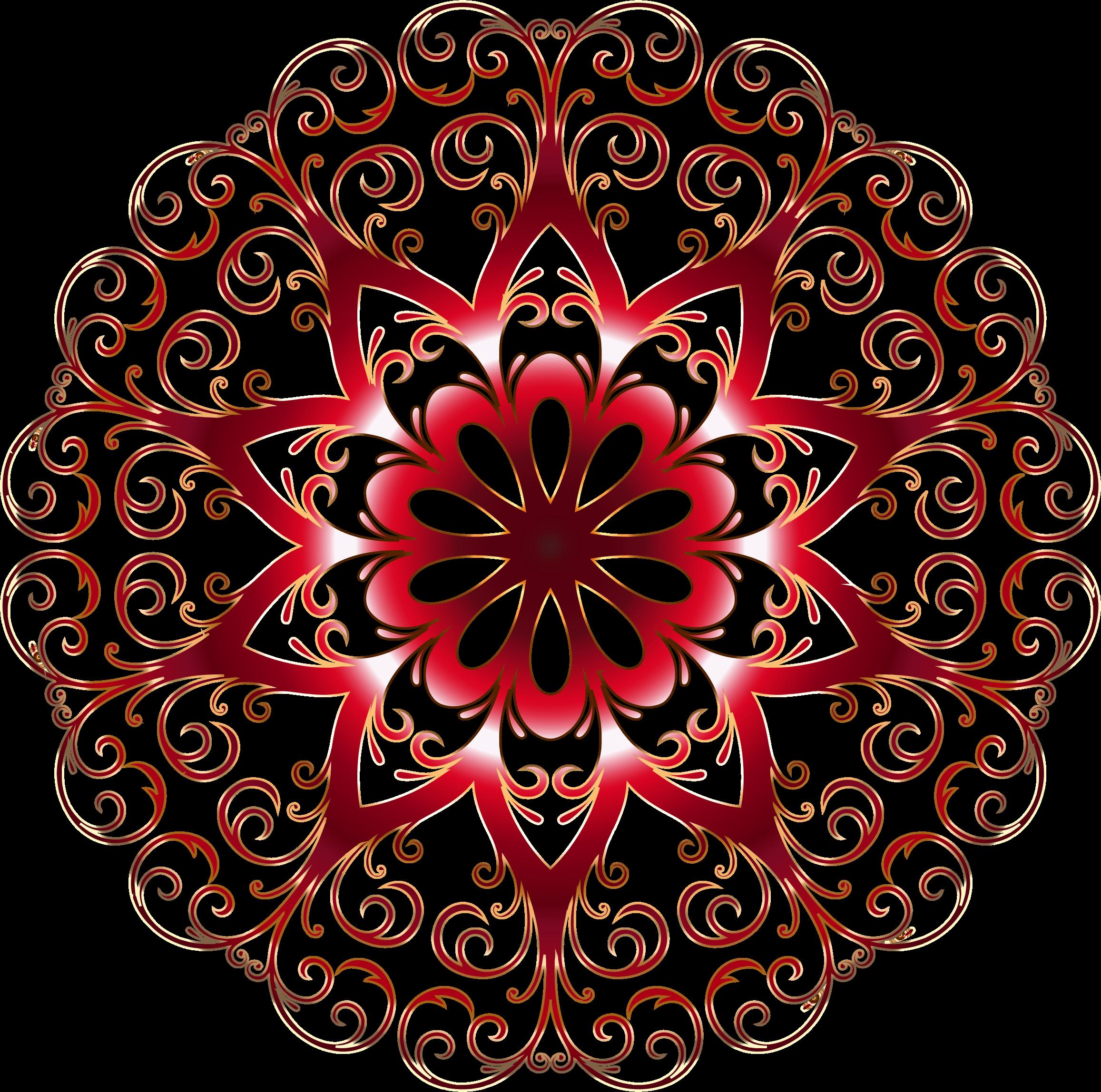 Rainbow snowflake clipart clip art freeuse stock Clipart - Prismatic Flourish Snowflake 3 No Background clip art freeuse stock