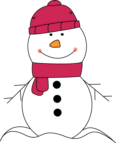 Pink snowman clipart svg black and white library gif snowman images | Snowman Wearing Pink Scarf and Hat Clip ... svg black and white library
