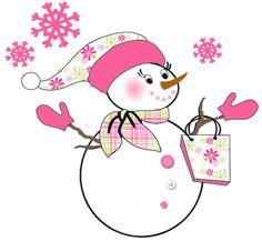 Pink snowman clipart clip art royalty free stock Woman snowman clipart pink - Clip Art Library clip art royalty free stock
