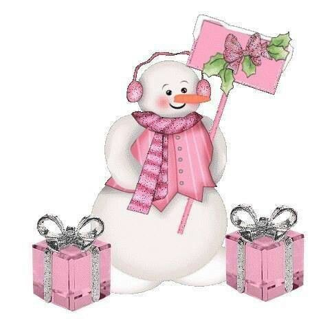 Pink snowman clipart freeuse library Snowlady | Snowmen | Snowman, Snowman clipart, Christmas snowman freeuse library