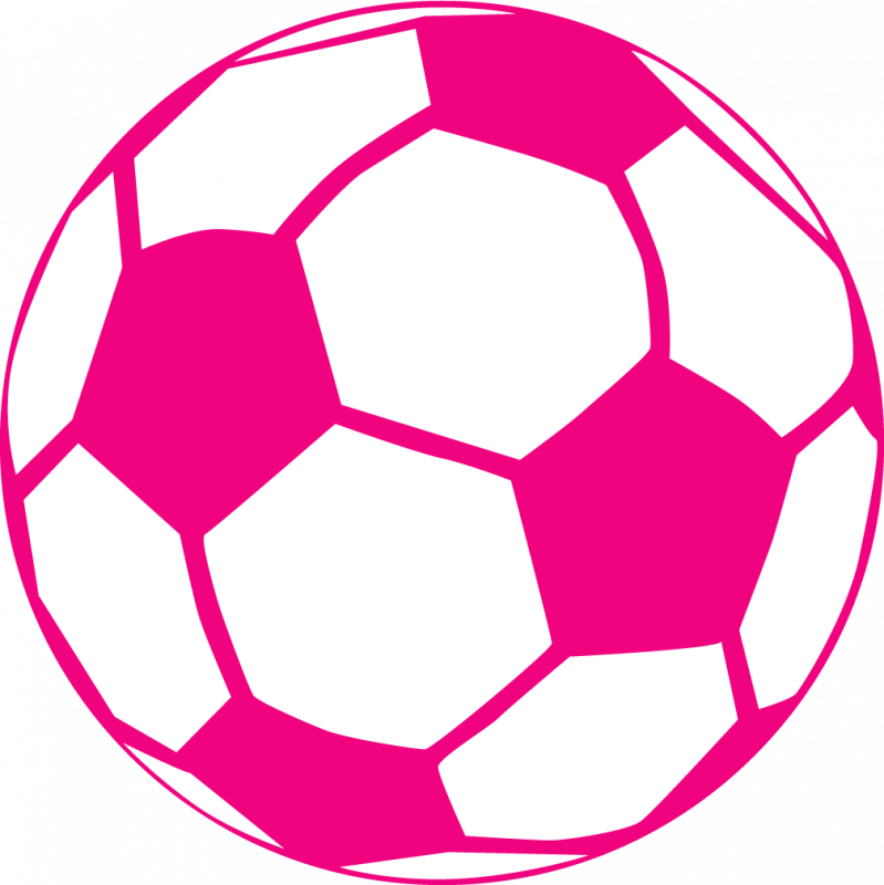 Pink soccer ball clipart image freeuse download Pink Soccer Ball Clipart | Clipart Panda - Free Clipart Images image freeuse download