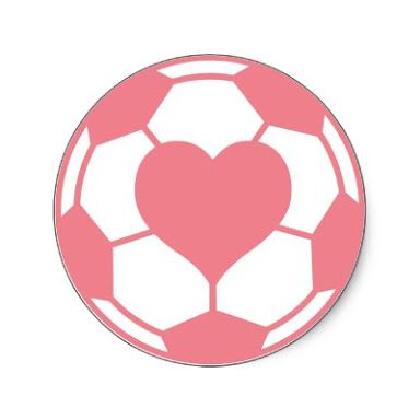 Pink soccer ball clipart svg library Soccer ball heart clipart - ClipartFest svg library