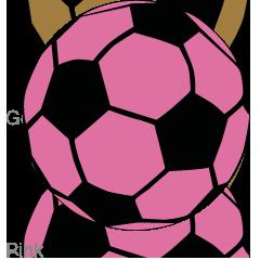 Pink soccer ball clipart jpg transparent Pink soccer ball clipart - ClipartFest jpg transparent