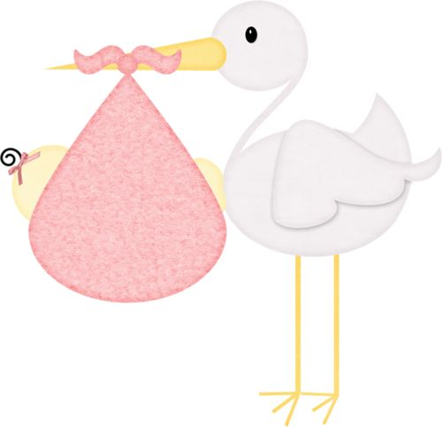 Pink stork with brown baby clipart vector download Stork And Baby Clipart | Free download best Stork And Baby ... vector download