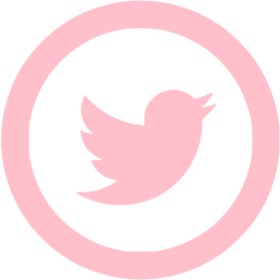 Pink twitter icon clipart image download Pink Twitter Transparent Logo Png Images image download