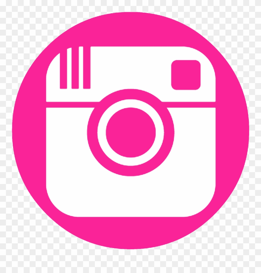 Pink twitter icon clipart jpg free library Facebook Twitter Pinterest Instagram - Pink Instagram Logo ... jpg free library