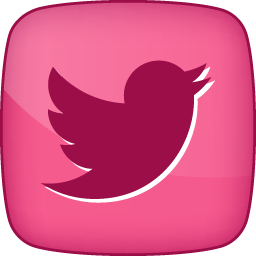 Pink twitter icon clipart vector transparent stock Pink Twitter Hover 2 Icon, PNG ClipArt Image   IconBug.com vector transparent stock