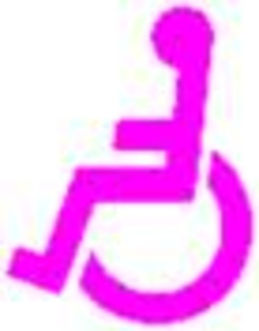 Pink wheelchair from out of my mind clipart clip freeuse stock BES- out of my mind timeline | Timetoast timelines clip freeuse stock