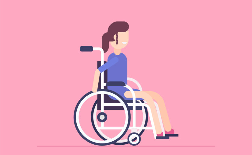 Pink wheelchair from out of my mind clipart vector free download Mobility – Welcome vector free download