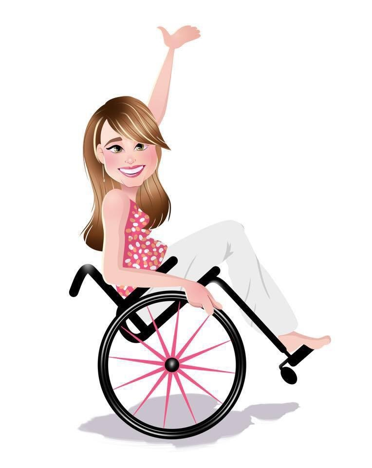 Pink wheelchair from out of my mind clipart clip art royalty free library The Disney Wonder From a Wheelchair User\'s Perspective ... clip art royalty free library