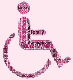 Pink wheelchair from out of my mind clipart png free library Mili\'s \