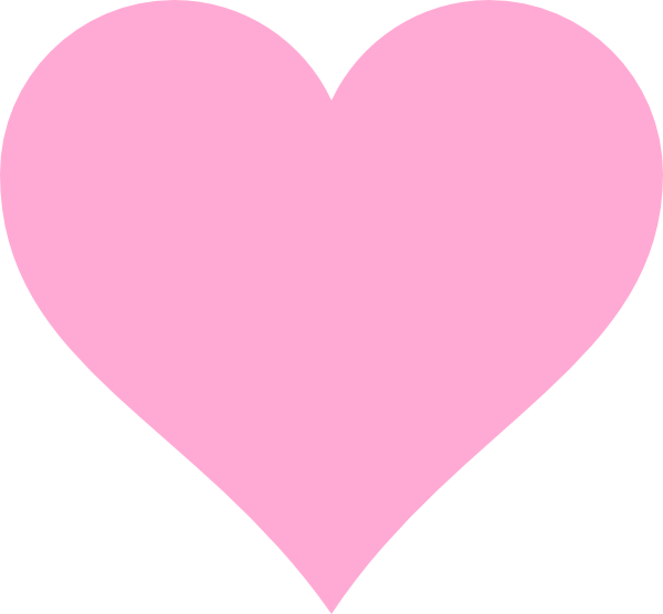 Pinkhearts clipart picture transparent stock Pink Hearts Clip Art at Clker.com - vector clip art online ... picture transparent stock