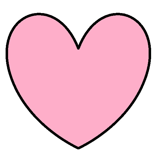 Pinkhearts clipart