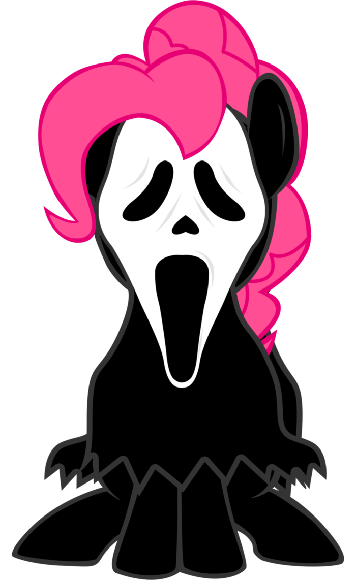 Pinkie pie halloween clipart png library library Pinkie Pie Ghost Face by LcPsycho on DeviantArt png library library
