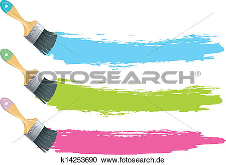 Pinsel und farbe clipart clip art Clipart - pinsel, mit, farbe, spritzer k14253690 - Suche Clip Art ... clip art