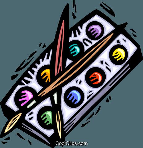 Pinsel und farbe clipart clip free Farbe und Pinsel Vektor Clipart Bild -vc042868-CoolCLIPS.com clip free