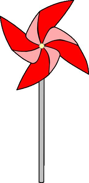 Pinwheel clipart clipart free Red Pinwheel Clip Art at Clker.com - vector clip art online ... clipart free