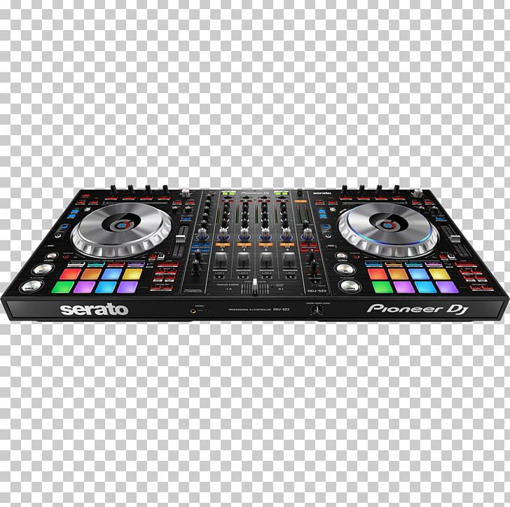 Pioneer dj clipart banner black and white download Pioneer DJ DJ Controller Disc Jockey Pioneer DDJ-SZ2 ... banner black and white download